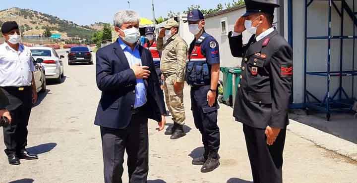Vali Doğan Jandarma ve Polislerin Bayramını Kutladı