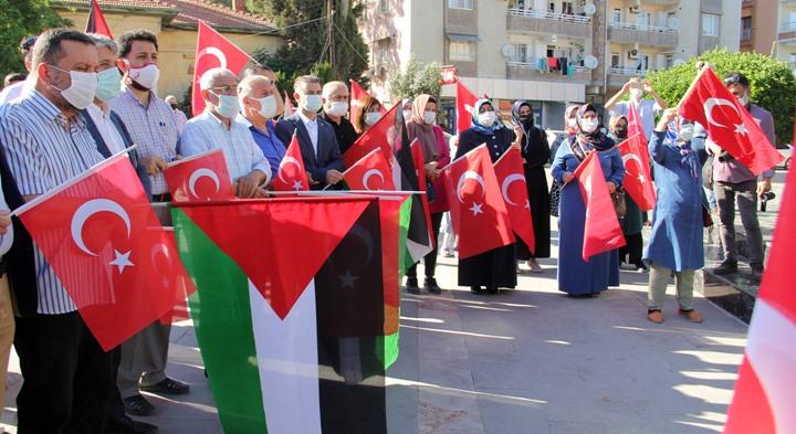 Kırıkhanlılar Filistin için bir araya geldi