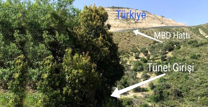 Mehmetçiğin dikkati ortaya çıkardı; yeni tünel açarken buldular