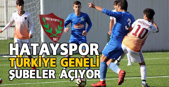 Hatayspor genç yetenekler için Türkiye geneli futbol okulları açıyor