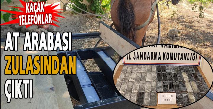 Kaçak Telefonlar At Arabası Zulasından Çıktı