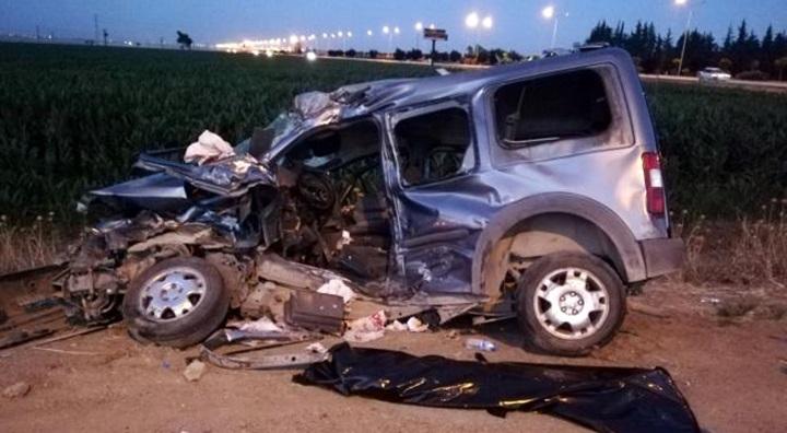 Askeri aracında karıştığı kazada 2 kişi öldü, 5 kişi yaralandı