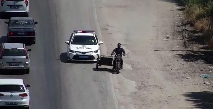 Drone ile tespit edildi polis peşine düştü VİDEO HABER