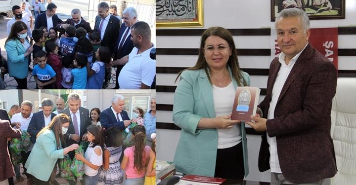 CHP Genel Başkan Yardımcısı Karaca HAYAD Derneğini ziyaret etti