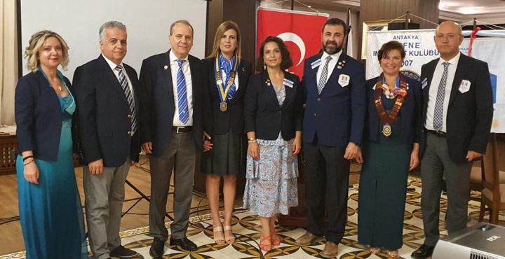 Antakya Defne Rotary Kulübü Yeni Başkanı Dr. Selda Bağdadioğlu Yumuşak