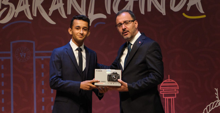Hatay'lı Genç'ten Türkiye Birinciliği