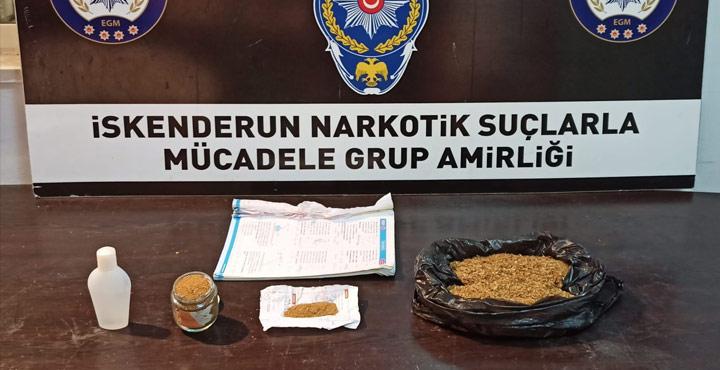 İskenderun'da Uyuşturucu Ele Geçirildi
