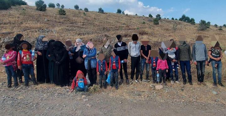 Organize Göçmen Kaçakçılığı Yapan 4 Zanlı Yakalandı