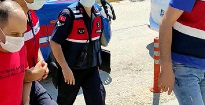 Pkk-Pyd Terör Örgütü Üyesi Suriye'li Şahıs Tutuklandı