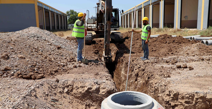 Reyhanlı Küçük Sanayi Sitesinde Çalışmalar Sürüyor