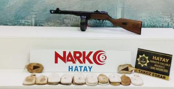 Sınır Hattında Uyuşturucu ve Uzun Namlulu Silah Ele Geçirildi