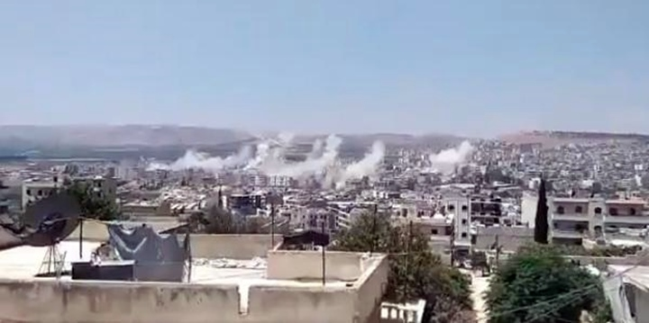 Terör örgütü Afrin'de sivilleri hedef aldı
