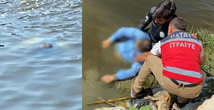 Asi Nehrinde bulunan cesedin Suriye uyruklu balıkçıya ait olduğu ortaya çıktı