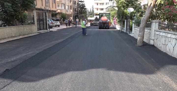 Akdeniz Mahallesi Asfaltlanıyor