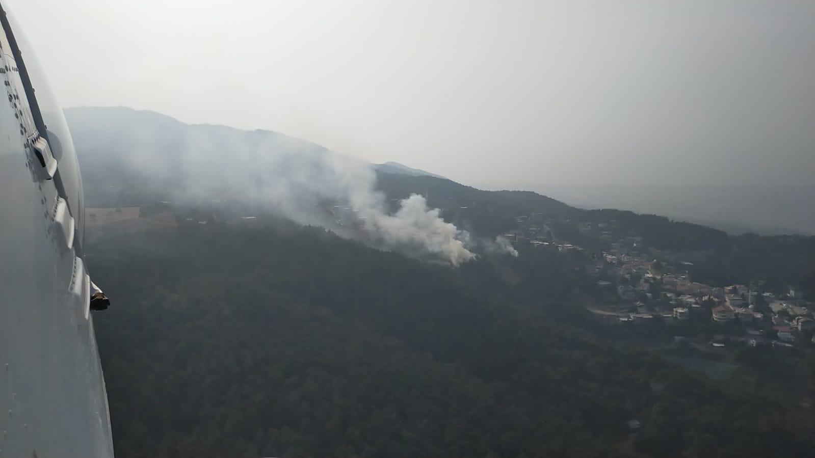 Belen'de orman yangını