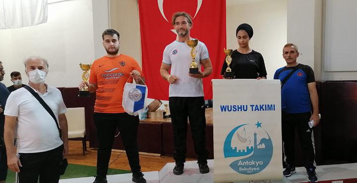 Hatay Ekibi Wushu Şampiyonasına Damga Vurdu