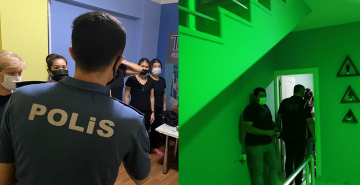 Hatay'da Masaj ve SPA Salonlarına Operasyon