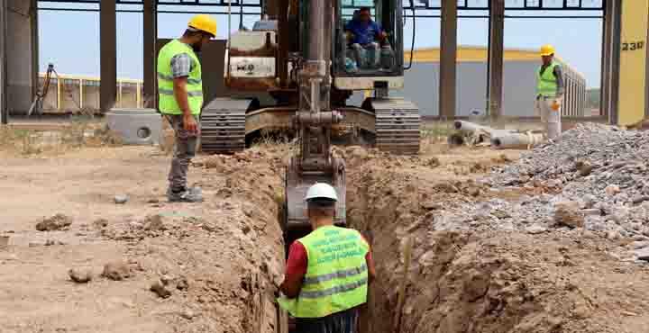 Reyhanlı Küçük Sanayi Sitesinde Çalışmalar Hızlandırıldı