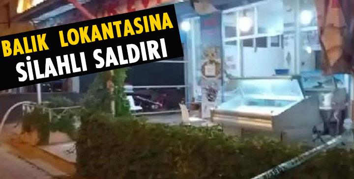 Lokantaya silahlı saldırı; 2 yaralı