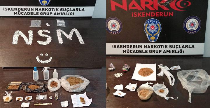 Uyuşturucuyla Mücadele Kapsamında 182 Şahıs Yakalandı