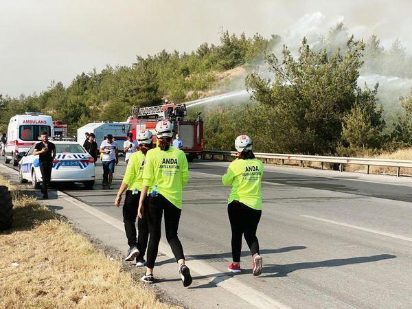 Dörtyol yangınında 15 hektarlık alan zarar gördü