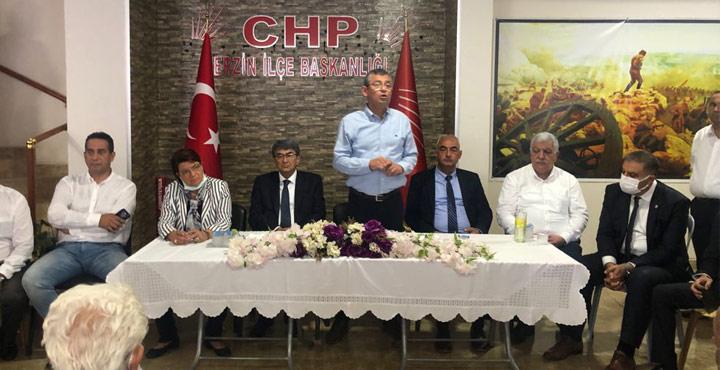 CHP Grup Başkan Vekili Özgür Özel Hatay'da