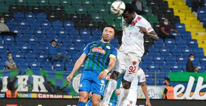 Çaykur Rizespor -Hatayspor 0-2