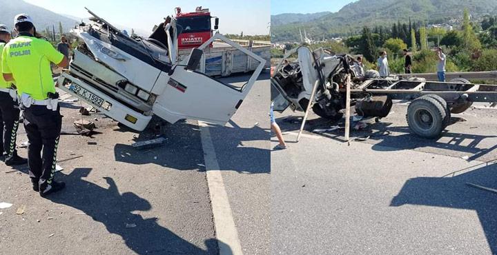 Dörtyol'da Trafik Kazası; 1 Yaralı