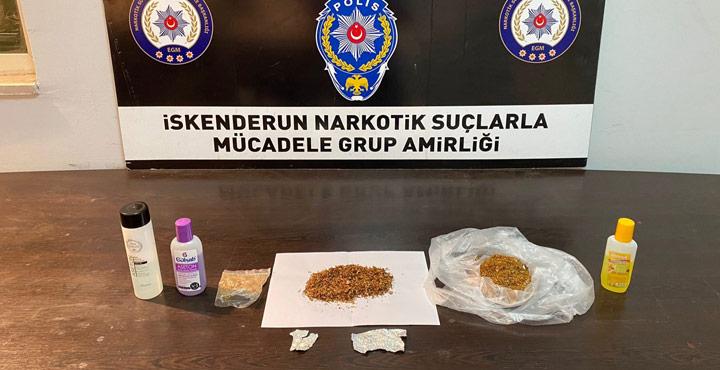 Hatay'da Uyuşturucu Ticareti Yapan Şahıslar Yakalandı