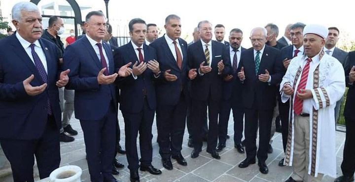Kılıçdaroğlu Bayezıd-i Bistami Türbesini Ziyaret Etti
