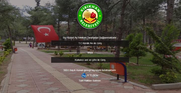 Kırıkhan Belediyesinden Ücretsiz Wİ-Fİ Hizmeti