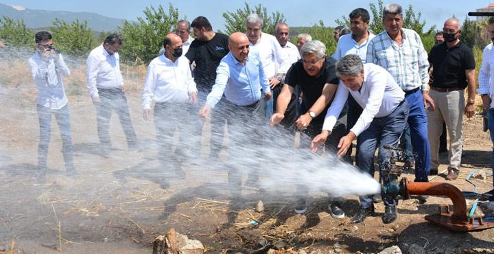 Kırıkhan'da Su Sondaj Çalışması Sonuç Verdi