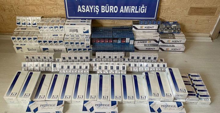 Reyhanlı'da Kaçak Sigara Ele Geçirildi
