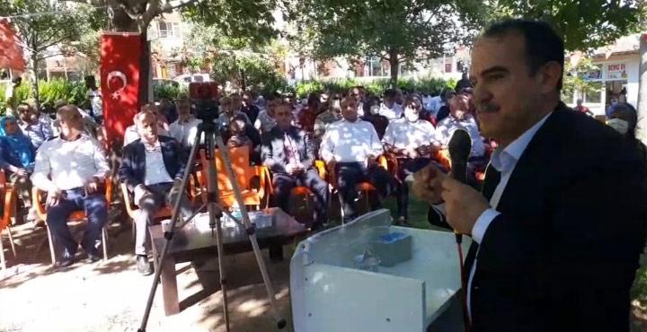 Sadullah Ergin, Deva Partisi Hassa 1.Olağan Kongresinde Konuştu