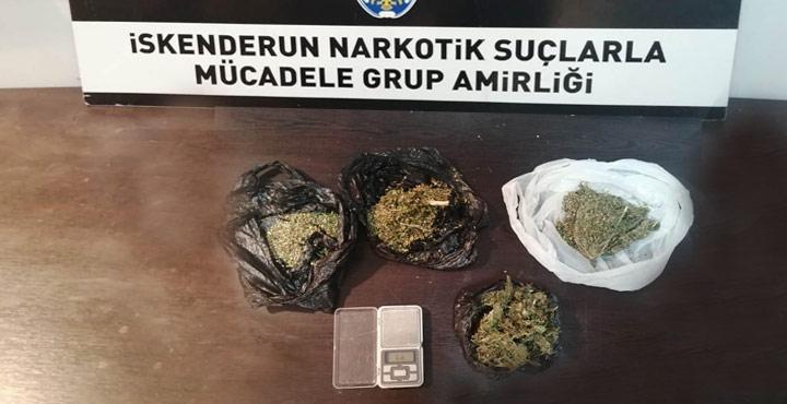 Hatay'da Uyuşturucu Ticareti Yapan 8 Şahıs Yakalandı