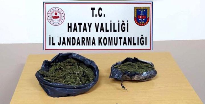 Hatay'ın 2 ilçesinde uyuşturucu operasyonu