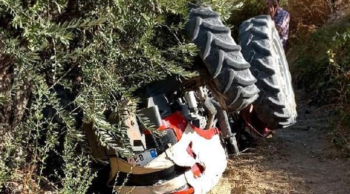 Traktörün altında kalan 14 yaşındaki çocuk hayatını kaybetti