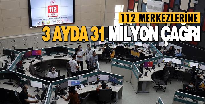 122 Merkezi 3 Ayda 31 Milyon 964 Bin Çağrıya cevap
