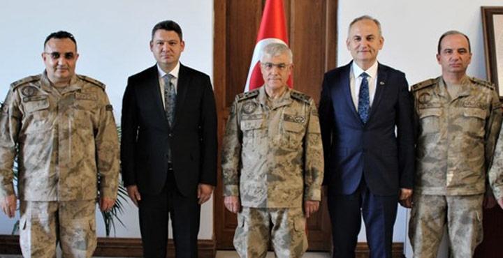 Jandarma Genel Komutanı Hatay'da